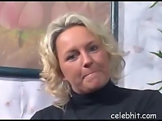 Amateur Blonde German Mature