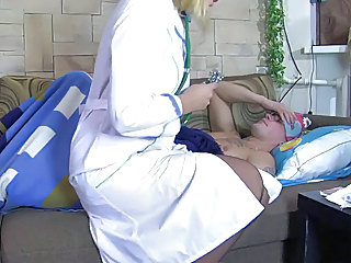 Mature Nurse Russian Stockings Uniform