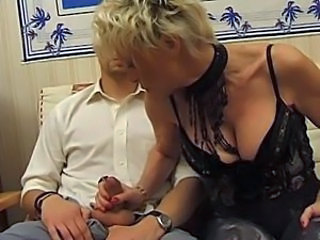 Big Tits French Handjob Lingerie