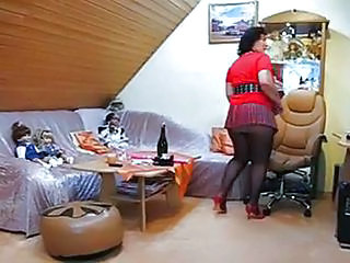 Amateur Chubby Mature Pantyhose
