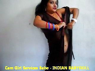 Amateur Dancing Erotic Indian  Stripper