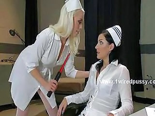 Lesbian  Nurse Stockings Uniform