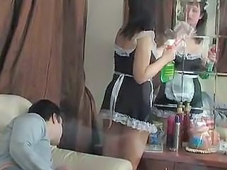 Maid  Old and Young Uniform Voyeur