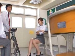 Asian Japanese  Skirt Teacher