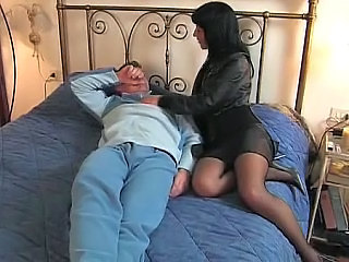Brunette European Italian  Stockings Wife