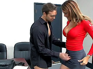 Amazing Big Tits  Office Secretary