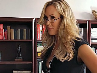 Amazing Big Tits Blonde Glasses  Teacher