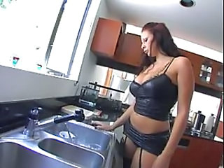 Amazing Big Tits Kitchen  Pornstar