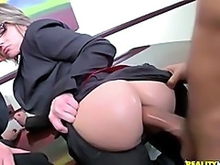 Anal Ass  Clothed Doggystyle Hardcore  Office Pornstar