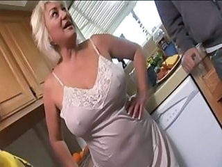 Big Tits Kitchen Mature Natural
