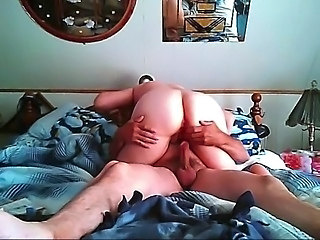 Amateur Chubby Homemade Mature Riding Wife