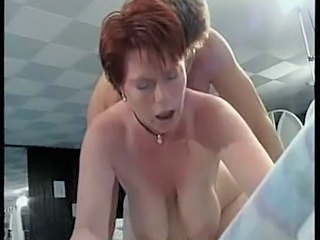 Doggystyle Hardcore Mature Mom Redhead