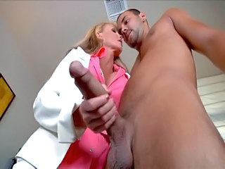 Big Tits Handjob  Nurse Pornstar Uniform
