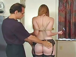 Ass Bondage  Stockings