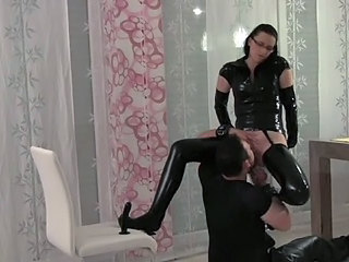 Fetish Latex Licking