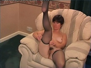 Amateur British Chubby Mature Stockings