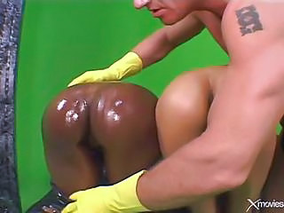 Amateur Ebony Fisting Interracial  Oiled