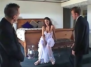 Big Tits Bride Hardcore Lingerie  Pornstar Stockings Threesome