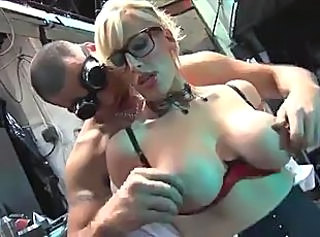 Big Tits British European Glasses  Natural Nipples
