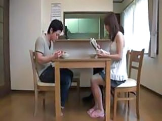 Asian Japanese Kitchen Mature Mom