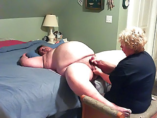 Handjob Homemade Mature Older Small cock Wife