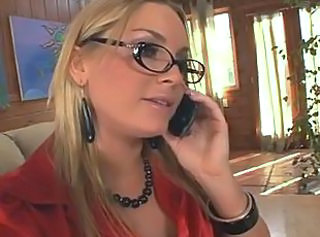 Blonde Glasses  Squirt