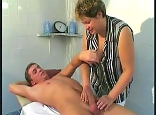 Big Tits Handjob Mature Old and Young