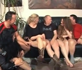 Amateur European German Groupsex  Orgy Swingers