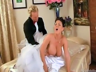 Big Tits Bride Doggystyle Hardcore  Natural