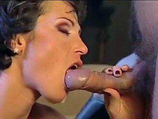 Blowjob Brunette Facial Mom