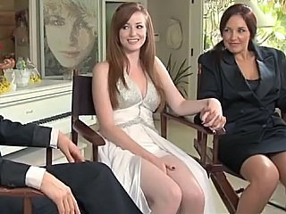 Lesbian Mom Threesome Wife