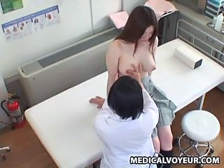 Asian HiddenCam Japanese Massage  Natural Nipples Voyeur