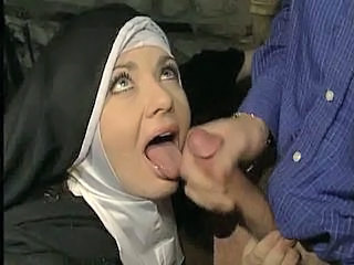 Cumshot  Nun Swallow Uniform Vintage