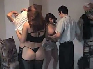 Groupsex Latina  Stockings