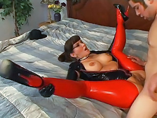 Amazing Clothed Fetish Hardcore Latex