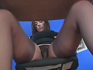 Office Panty Solo Stockings