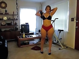 Amateur Big Tits Homemade Lingerie  Stripper