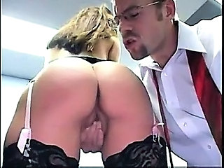 Ass  Office Secretary Stockings
