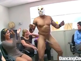 Interracial  Office Party