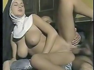 Big Tits  Natural Nun Uniform Vintage