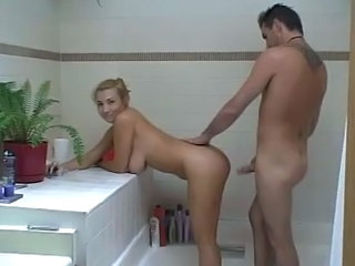 Amateur Bathroom Doggystyle