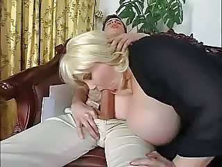 Store pupper Blond Blowjob