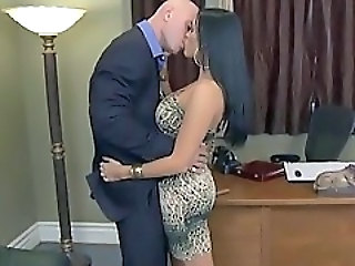 Amazing Hardcore Kissing  Office