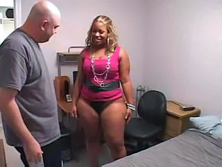 Amateur Chubby Ebony Interracial