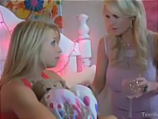 Blonde Daughter  Mom Teen