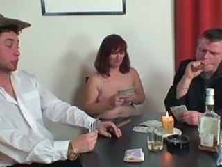 Drunk Family Mature Mom Old and Young
