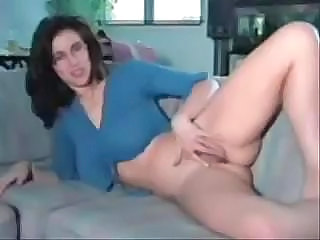 Amateur Glasses Homemade Masturbating