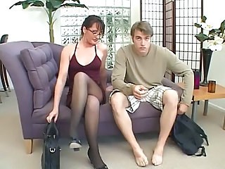 Glasses Legs  Pantyhose