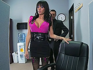 Amazing Big Tits  Office Pornstar
