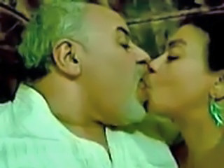 Arab Kissing Mature Older